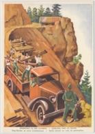 Militärpostkarte Grenzbesetzung 1939/40 - Unsere Soldaten An Der Arbeit - Heimat
