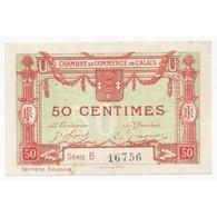 62 - CALAIS - CHAMBRE DE COMMERCE - 50 CENTIMES - TRES TRES BEAU - - 1871-1952 Anciens Francs Circulés Au XXème