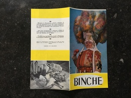 19A -   Le Carnaval De Binche - Histoire