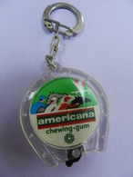 Porte Clefs AMERICANA CHEWING GUM (jeu De Billes ) - Porte-clefs