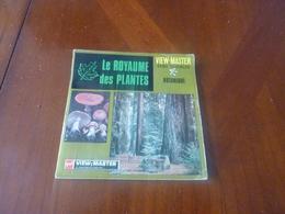 View Master 21 PHOTOS EN RELIEF B 680 F BOTANIQUE LE ROYAUME DES PLANTES  Set DE 3 DISQUES - Visionneuses Stéréoscopiques