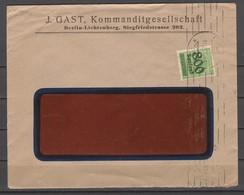 DEUTSCHES REICH. Infla-marken, Kleine Anzahl Von 6 Umschlägen - 01 - Allemagne
