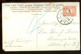 HANDGESCHREVEN POSTKAART Uit 1909 Van STEMPEL HAARLEMMERMEER Naar SLOTEN * NVPH NR 51  (11.548b) - Briefe U. Dokumente
