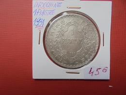 INDOCHINE (Française) : 1 PIASTRE 1931 ARGENT - Kolonien