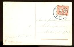 HANDGESCHREVEN POSTKAART Uit 1910 Van STEMPEL HAARLEMMERMEER Naar SLOTEN * NVPH NR 51  (11.548c) - Briefe U. Dokumente