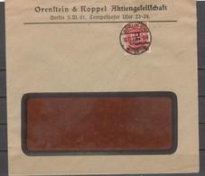 DEUTSCHES REICH. Infla-marken, Kleine Anzahl Von 8 Umschlägen - 02 - Allemagne