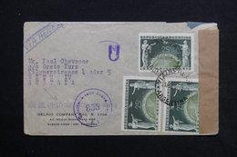 ARGENTINE - Enveloppe Pour L 'Autriche En 1950 Avec Contrôle Postal , Griffe Commémorative De Libération - L 28602 - Argentina