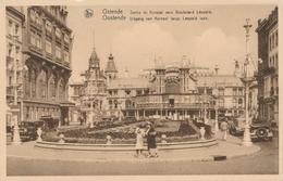 CPA - Belgique - Oostende - Ostende - Sortie Du Kursaal Vers Le Boulevard Léopold - Oostende