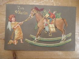 Vive Saint Nicolas 1906 Relief - Saint-Nicholas Day