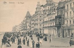 CPA - Belgique - Oostende - Ostende - La Digue - Oostende