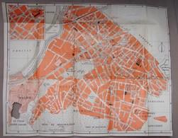 Carte. 8. Ancienne Carte D'une Partie De Paris. Champ De Course, Malmaison Ect - Cartes Géographiques