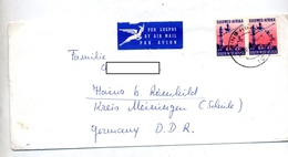 Lettre Cachet Windhock Sur Oiseau Tour - Südwestafrika (1923-1990)