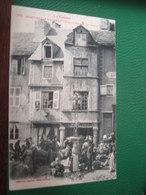 PA LOZERE ST CHELY D APCHER 48 VIEILLE MAISON XVEME SIECLE, ANIMEE LABOUCHE 372 - Saint Chely D'Apcher