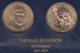 """DOLAR PRESIDENTES """"T.JEFERSON"""" - Estados Unidos"""