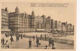 CPA - Belgique - Oostende - Ostende - Les Hôtel De La Digue Vues Du Kursaal - Oostende