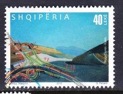 ALBANIA, USED STAMP, OBLITERÉ, SELLO USADO. - Albania