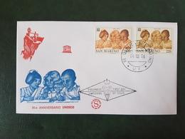 (35748) F.D.C. SAN MARINO  1976 - FDC