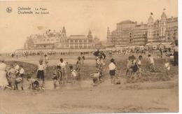CPA - Belgique - Oostende - Ostende - La Plage - Oostende