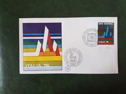 (35755) F.D.C. SAN MARINO  1976 - FDC