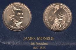 """DOLAR PRESIDENTES """"JAMES MONROE"""" - Estados Unidos"""