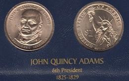 "DOLAR PRESIDENTES ""JOHN QUINCY ADAMS"" - Estados Unidos"