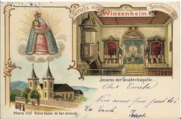 Gruss Aus  WINTZENHEIM- Multivues ( Pionnière) - Wintzenheim