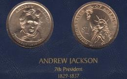 """DOLAR PRESIDENTES """"ANDREW JAKCSON"""" - Estados Unidos"""