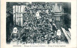 OCEANIE --  PAPOUSIE - NOUVELLE GUINEE --  ONONGHE --  Groupe De Nouveaux Chrétiens - Papua New Guinea