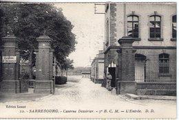 57. Sarrebourg. Caserne Dessirier. 7e BCM. L'entrée - Sarrebourg