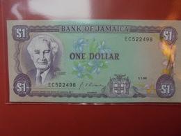 JAMAIQUE 1$ 1990 PEU CIRCULER/NEUF - Jamaica