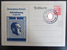 """Postkarte Propaganda Hitler Anschluss 1938 """"Der Führer Spricht - Innsbruck"""" - Briefe U. Dokumente"""