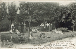 Pelouse De La Villa De Cauwer - Pensionnat Pour Demoiselles Bruxelles-Nord - Enseignement, Ecoles Et Universités
