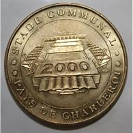 BELGIQUE - CHARLEROI - EURO 2000 - STADE COMMUNAL - JEUNES HAINAUT - MDP 2000 - - Monnaie De Paris