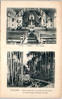 OCEANIE --  PAPOUSIE - NOUVELLE GUINEE -- Yule - L'Eglise - Ononghe - Route Traversant Une Forêt - Papua New Guinea
