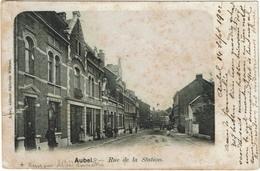 Aubel - Rue De La Station 1902 - Aubel