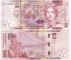Bahamas - 3 Dollars 2019 UNC Lemberg-Zp - Bahamas