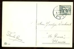 POSTKAART Uit 1943 * STEMPEL WIJHE * GELOPEN Van WIJHE Naar HEERDE  (11.548k) - Periode 1891-1948 (Wilhelmina)