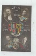 Guerre 1914-1918 (Militaria) : Les Portrait Des Chefs D'Etat, Les Alliés Dont La Serbie, Russie,..  En 1915 (animé) PF - Weltkrieg 1914-18