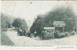 Les Trois Routes Conduisant Au Barrage De La Gileppe 1905 - Jalhay