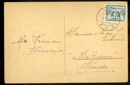 POSTKAART Uit 1944 * STEMPEL WIJHE * GELOPEN Van WIJHE Naar HEERDE  (11.548L) - Periode 1891-1948 (Wilhelmina)