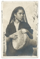ALEXANDRIE (Égypte)  Joueuse De Tarbouca - 1905 - Phot. P. Dittrich - Comptoir Philatélique D'Égypte - Alexandrie