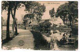 Ath, Le Pont Carré, Carte Abimé, Voir Scan (pk59247) - Ath