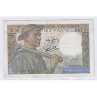 FAY 08/12 - 10 FRANCS MINEUR - 22/06/1944 - TRES TRES BEAU - PICK 99 - - 1871-1952 Anciens Francs Circulés Au XXème