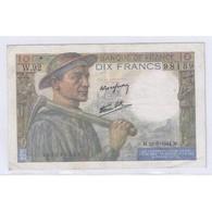 FAY 08/12 - 10 FRANCS MINEUR - 22/06/1944 - TRES TRES BEAU - PICK 99 - - 10 F 1941-1949 ''Mineur''