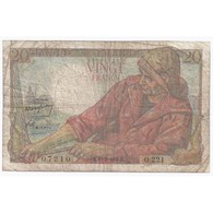 FAY 13/15 - 20 FRANCS PECHEUR - 19/05/1949 - TRES BEAU - PICK 100 - - 1871-1952 Circulated During XXth