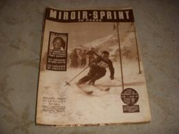 MIROIR SPRINT 396 11.01.1954 SKI COUTTET FOOT REIMS BORDEAUX BOXE BASSETT - Deportes