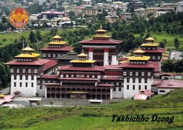 1 AK Bhutan * Hauptstadt Thimphu - Mit Dem Tashichho Dzong - Seit 1968 Sitz Der Bhutanischen Regierung * - Bhutan