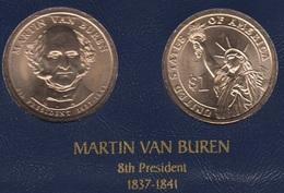 """DOLAR PRESIDENTES """"MARTIN VAN BUREN"""" - Estados Unidos"""