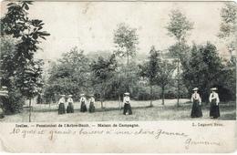 Ixelles Pensionnat De L'Arbre-Bénit Maison De Campagne 1906 - Enseignement, Ecoles Et Universités