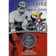 FRANCE - 1/4 EURO 2003 - 100 ANS DU TOUR DE FRANCE - ARGENT - BRILLANT UNIVERSEL - - Francia
